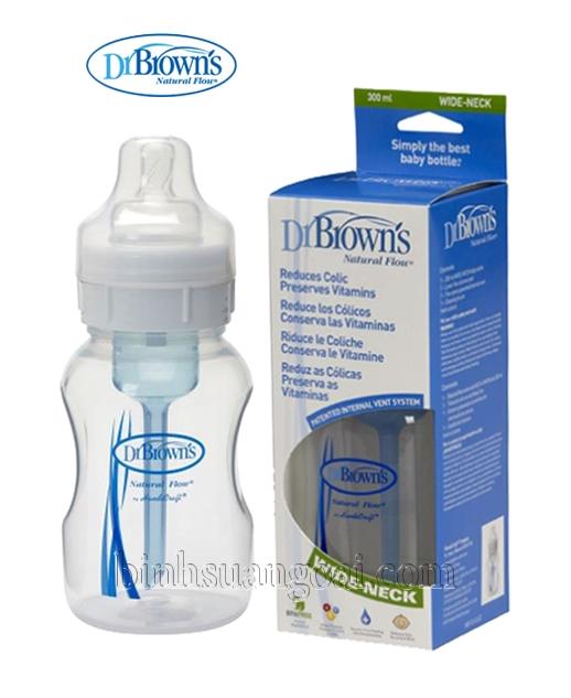 bình sữa Dr Brown co rong 250ml