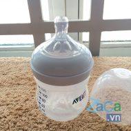 Bình sữa Avent Natural 125ml 2012, mô phỏng tự nhiên