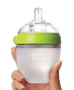 Bình sữa Comotomo siêu mềm 150ml, free BPA, mô phỏng ty mẹ