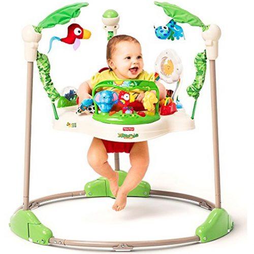 Xích đu nhún nhảy cho bé Baby Fisher Price, tập đứng năng động