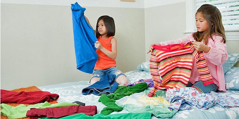 Luyện tập kĩ năng độc lập cho bé