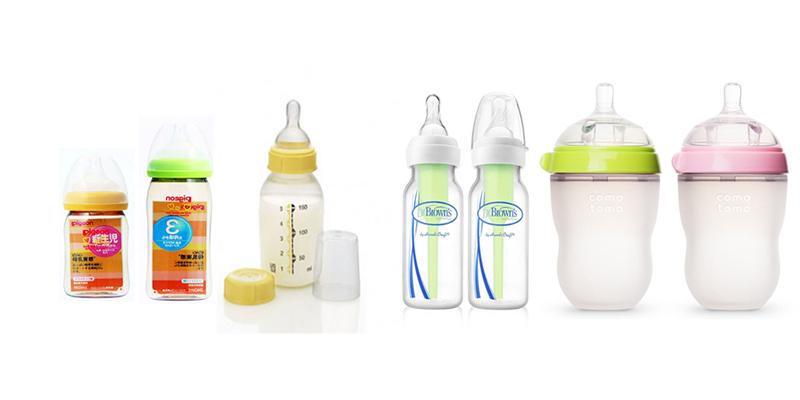 Những loại bình sữa không chứa chất độc hại BPA