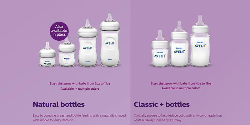 Bình sữa Avent thế hệ mới
