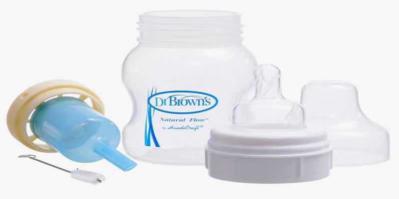 Bình sữa Dr Brown cổ rộng