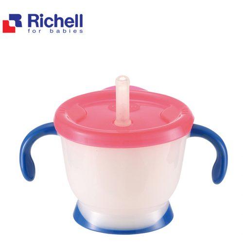 Cốc Tập Uống Richell Cho Bé Trong 3 Giai  Đoạn Phát Triển