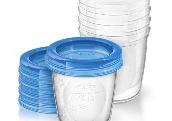 Cốc trữ sữa Avent