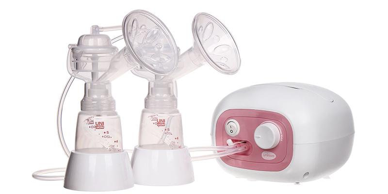 Máy hút sữa Unimom Forte điện đôi