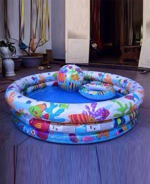 bể bơi phao 3 tầng