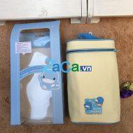 Túi ủ bình sữa đôi Kuku