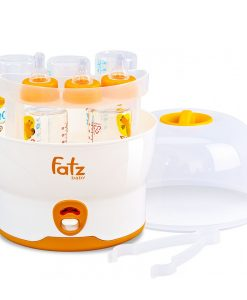 Máy Tiệt Trùng 6 Bình Sữa Fatz FB4019SL Chính Hãng Không BPA (BH 1 Năm)