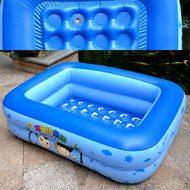 Bể bơi vuông 2 tầng cho bé Swimming Pool