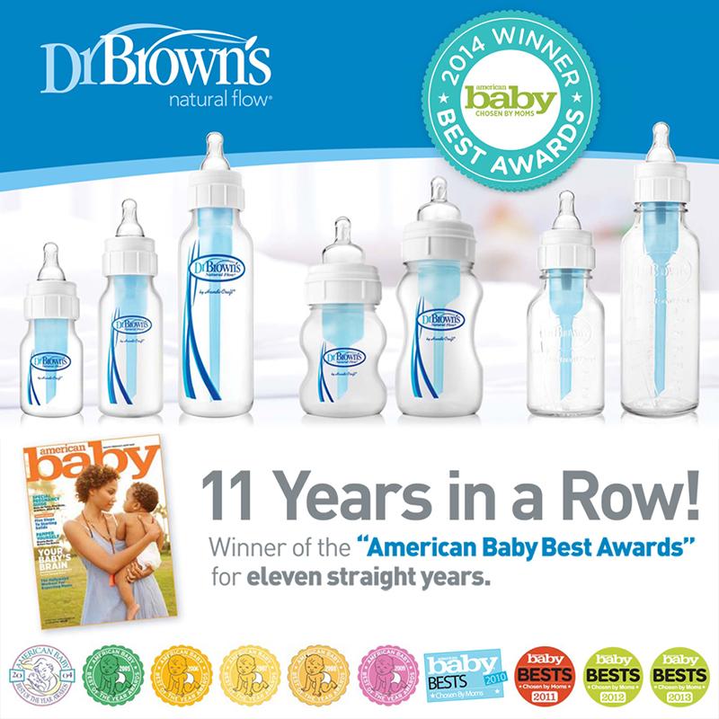 Các sản phẩm bình sữa từ Dr Brown