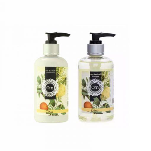 Combo giá tốt Dầu Gội & Dầu Xã ngăn tóc rụng Citrus - Om Fountain