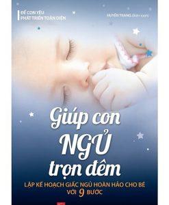 Sách Giúp Con Ngủ Trọn Đêm
