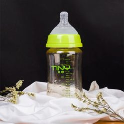 Bình Sữa PPSU Tiny Núm Siêu Mềm Mô Phỏng Ty Mẹ 240ml